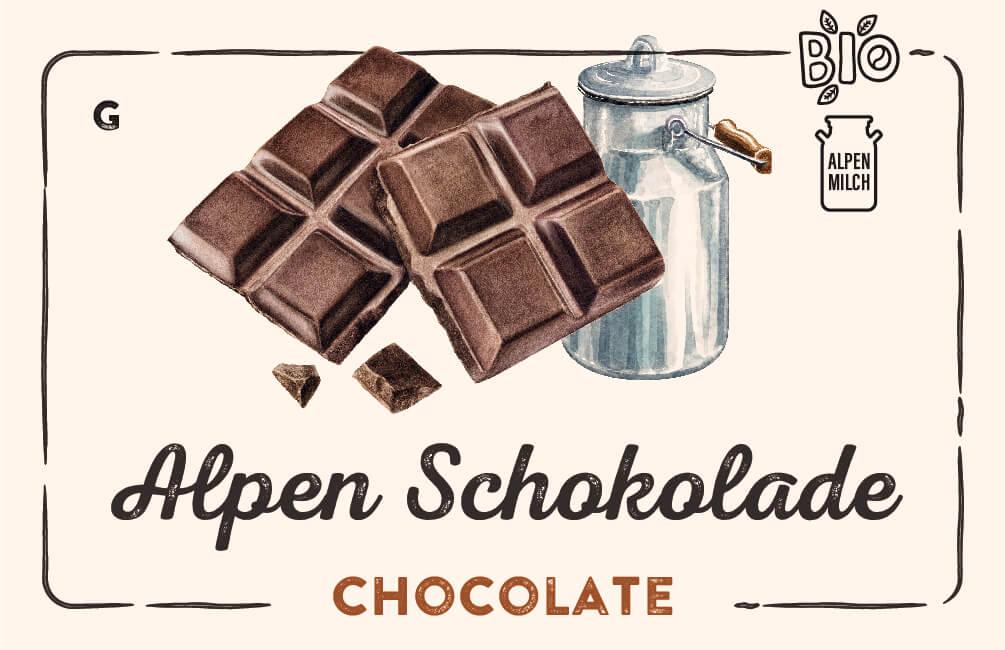Alpen Schokolade